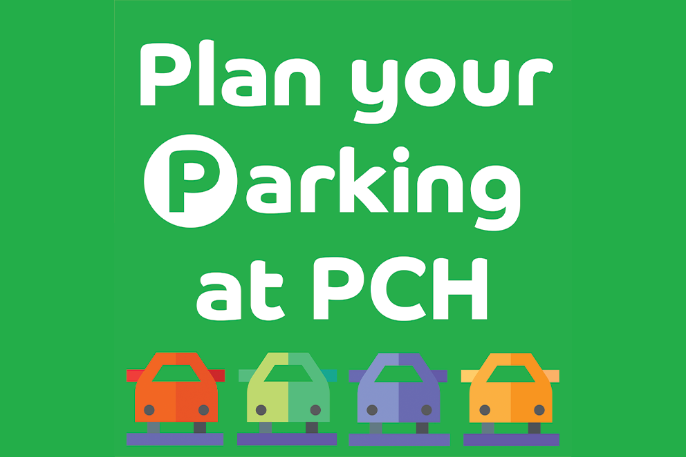 Plan your parking at PCH